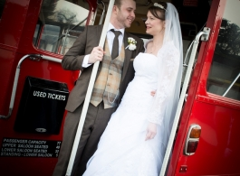 London Routemaster Wedding Bus Hire in Brentwood
